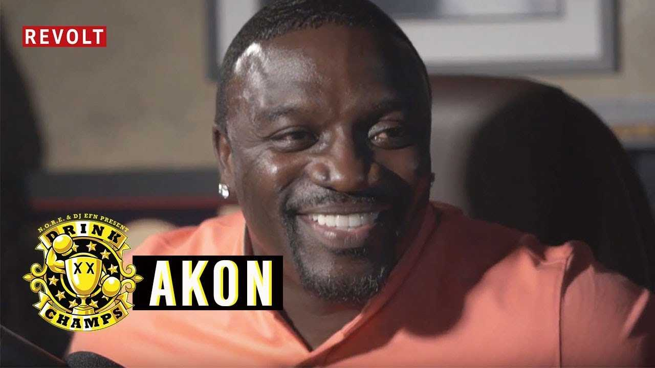 Akon | Drink Champs (Full Episode) [Interview]
