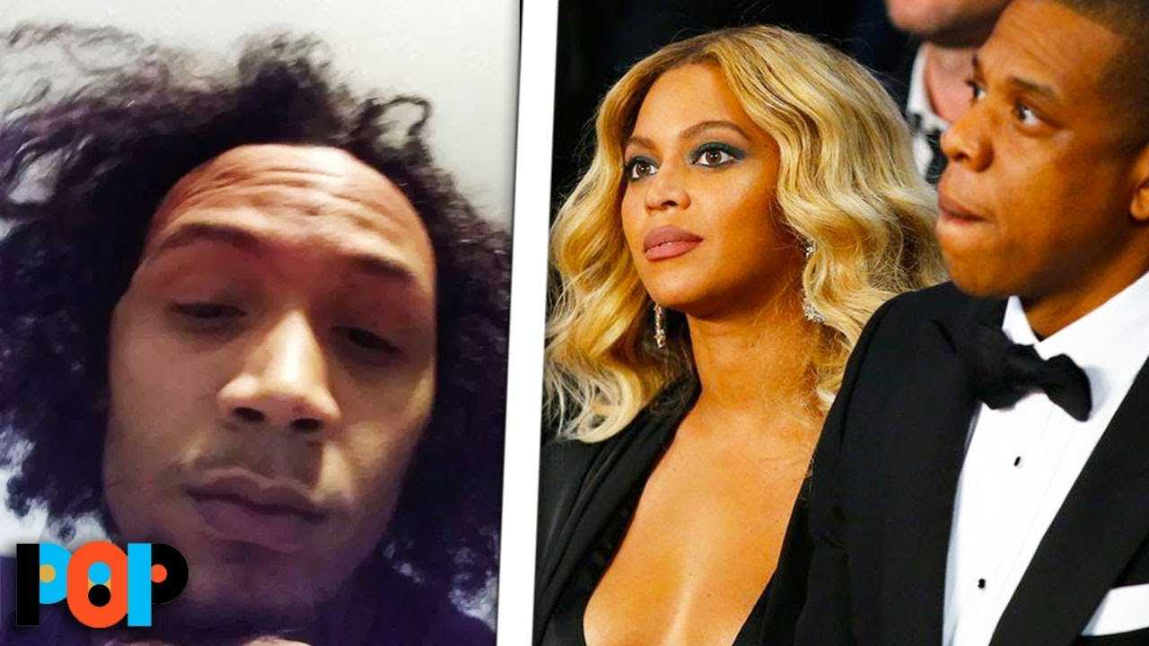 Fan RUSHES Beyonce, Jay-Z During Concert
