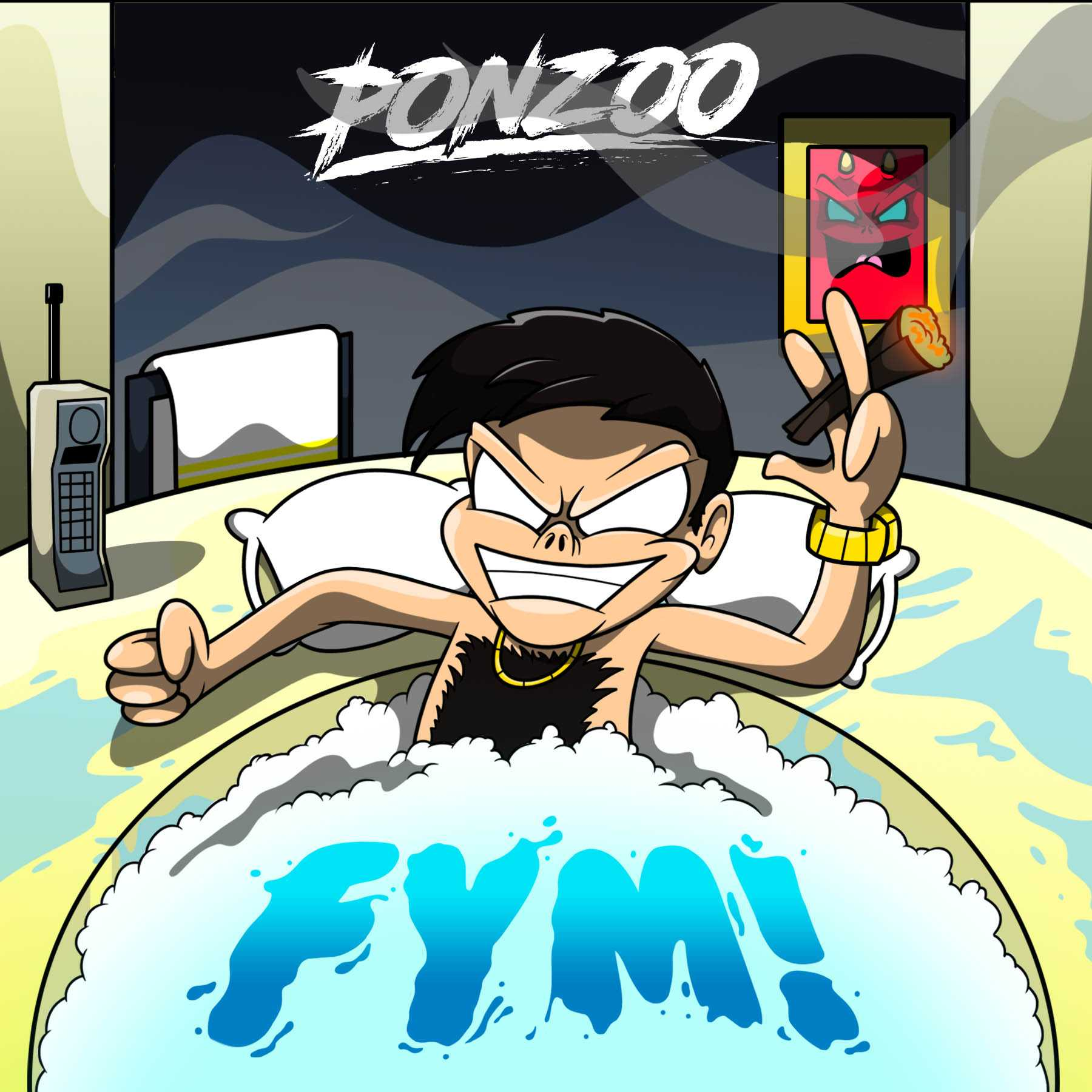 "Incredible! Ponzoo drops new release ""FYM!"" [Audio]"