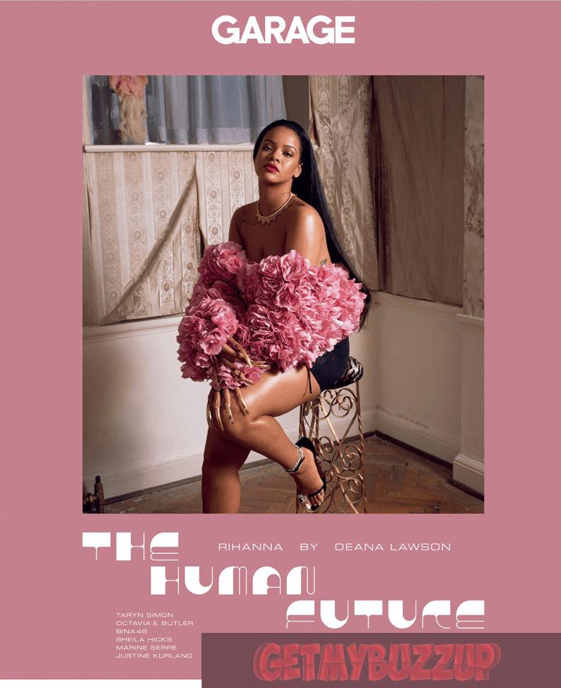 RIHANNA GRACES THE COVER OF 'GARAGE MAGAZINE' [PHOTOS]