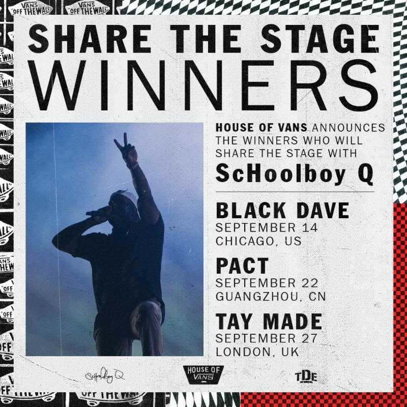 THIS FRIDAY: ScHoolboy Q's Share The Stage at House Of Vans [Events]