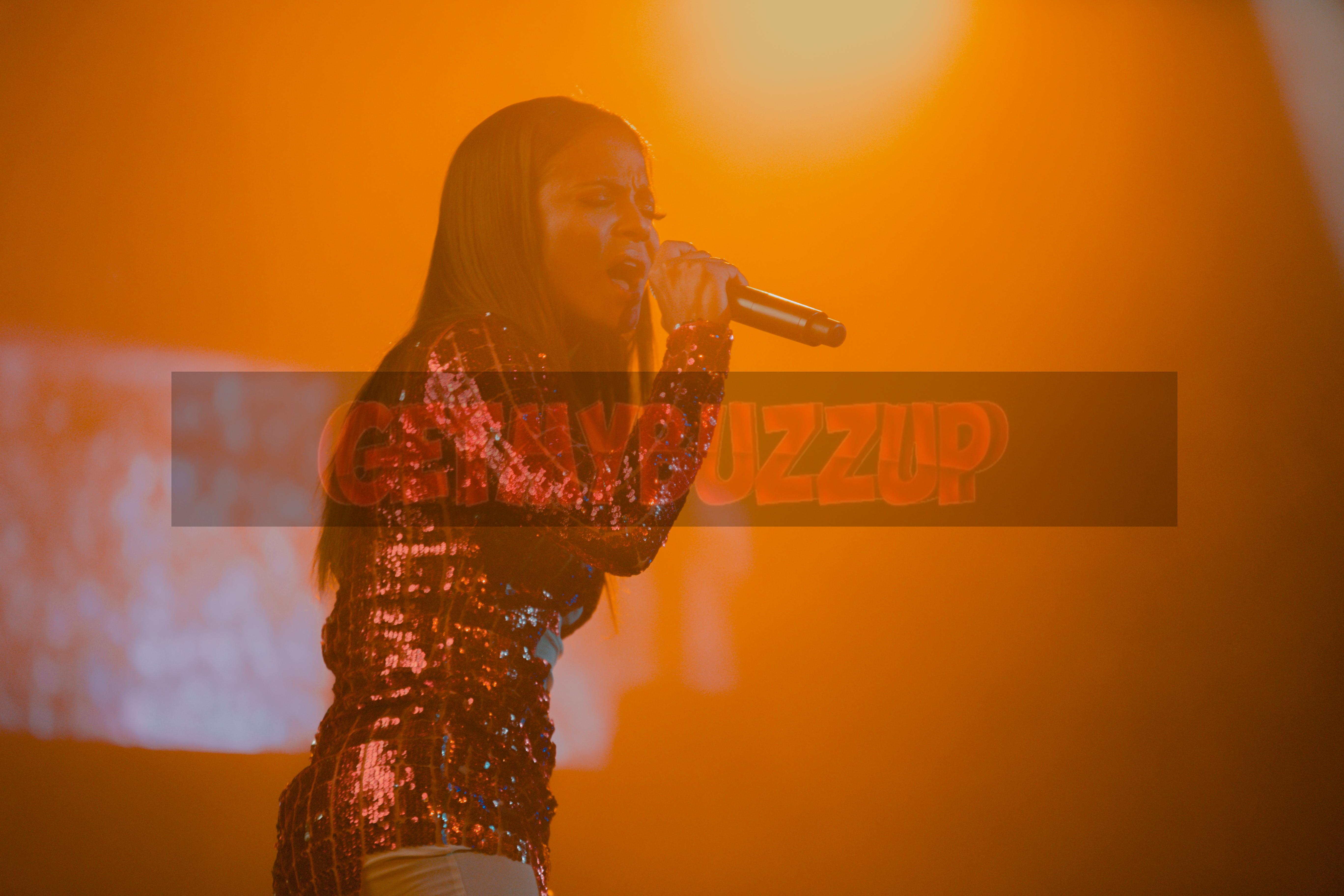 Christina Milian performs at LEX Nightclub [Photos]