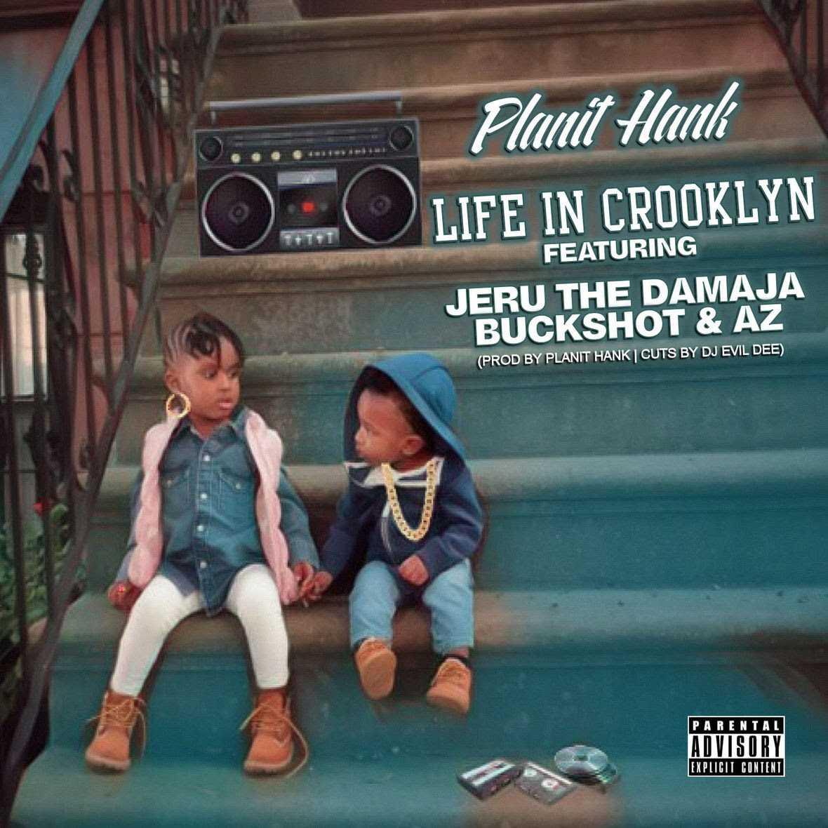 "Planit Hank feat. Jeru The Damaja , Buckshot & AZ ""Life in Crooklyn"" [Audio]"