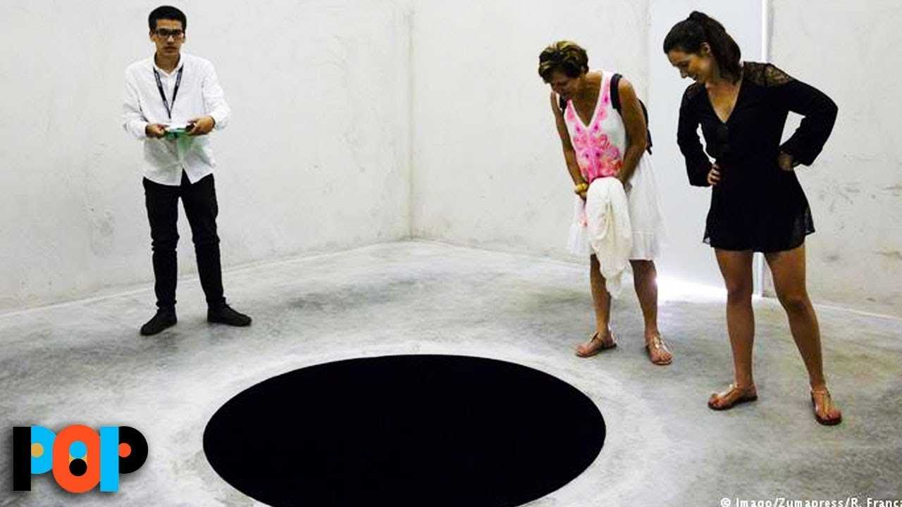 A Guy LITERALLY Fell Into A Black Hole At A Museum