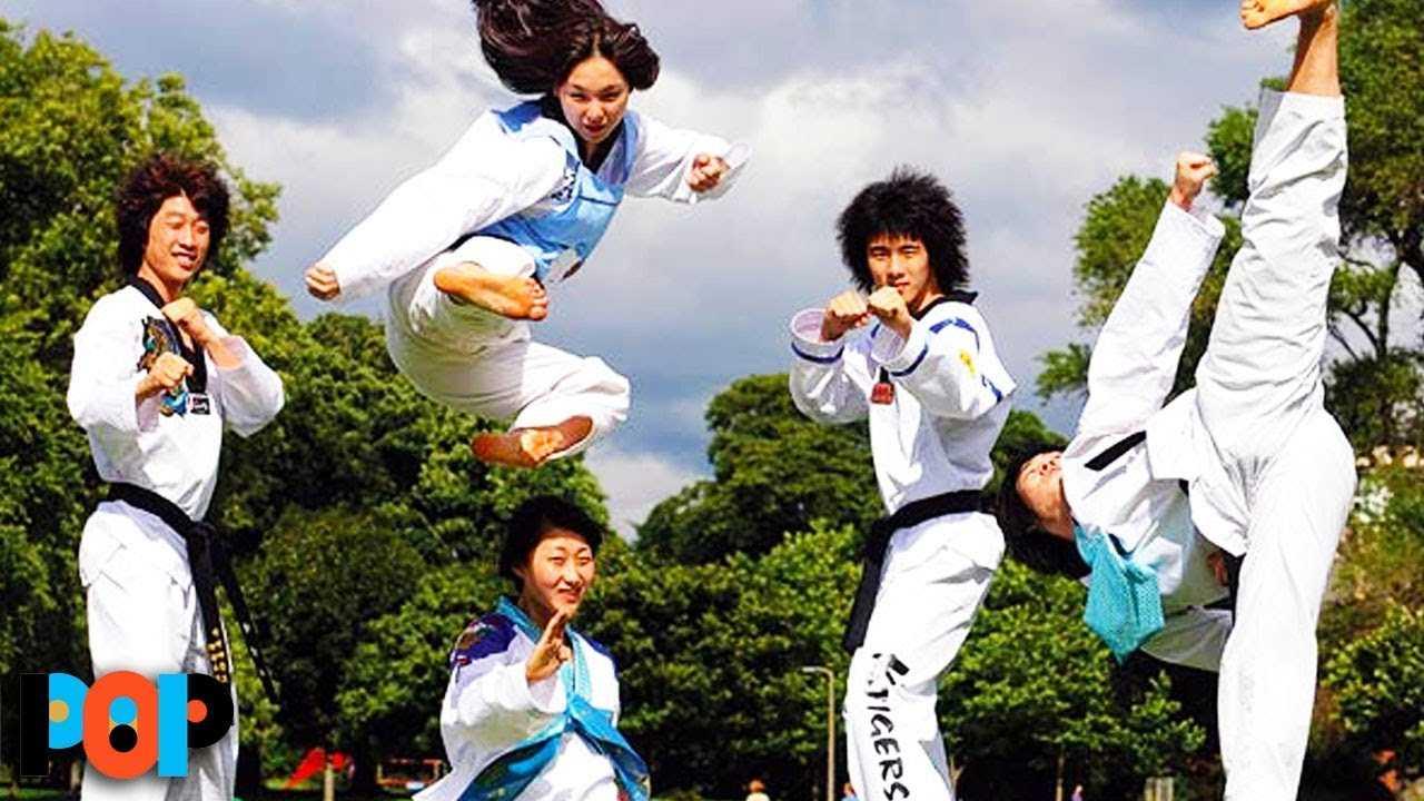 INCREDIBLE Video Of South Korean Taekwondo