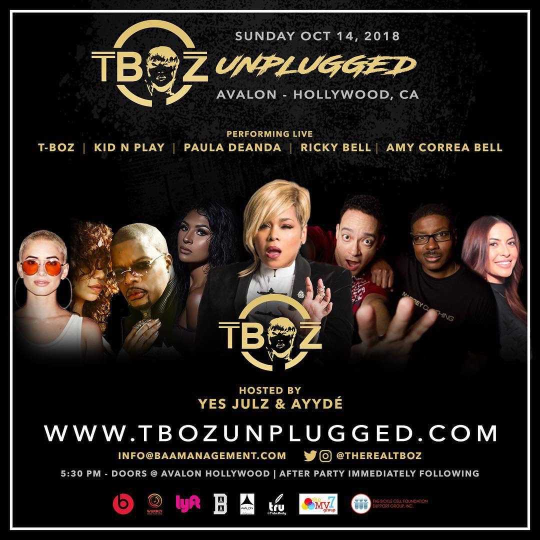 T Boz Unplugged [Events]