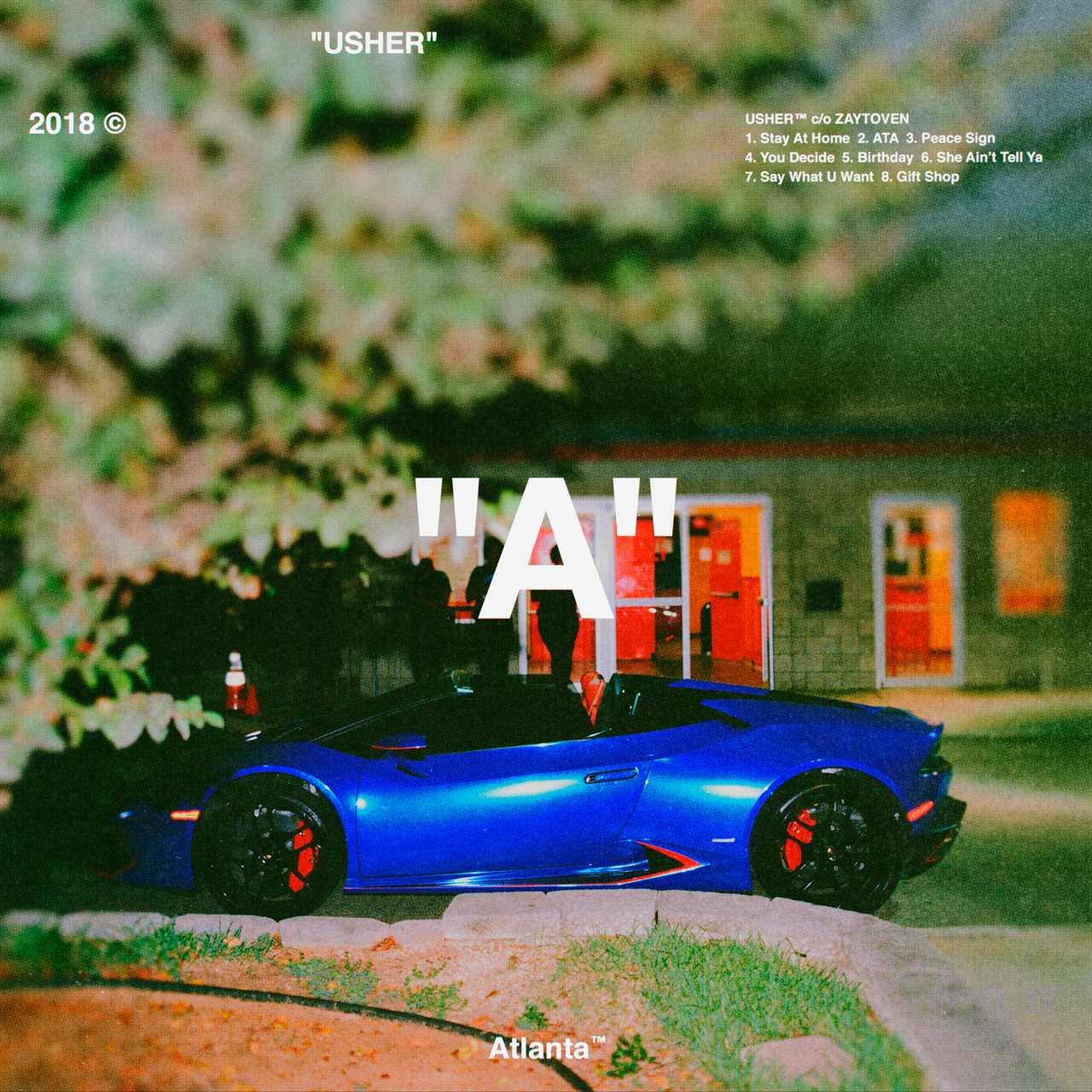 "Album Stream: USHER | ""A (ATLANTA)"" [Audio]"