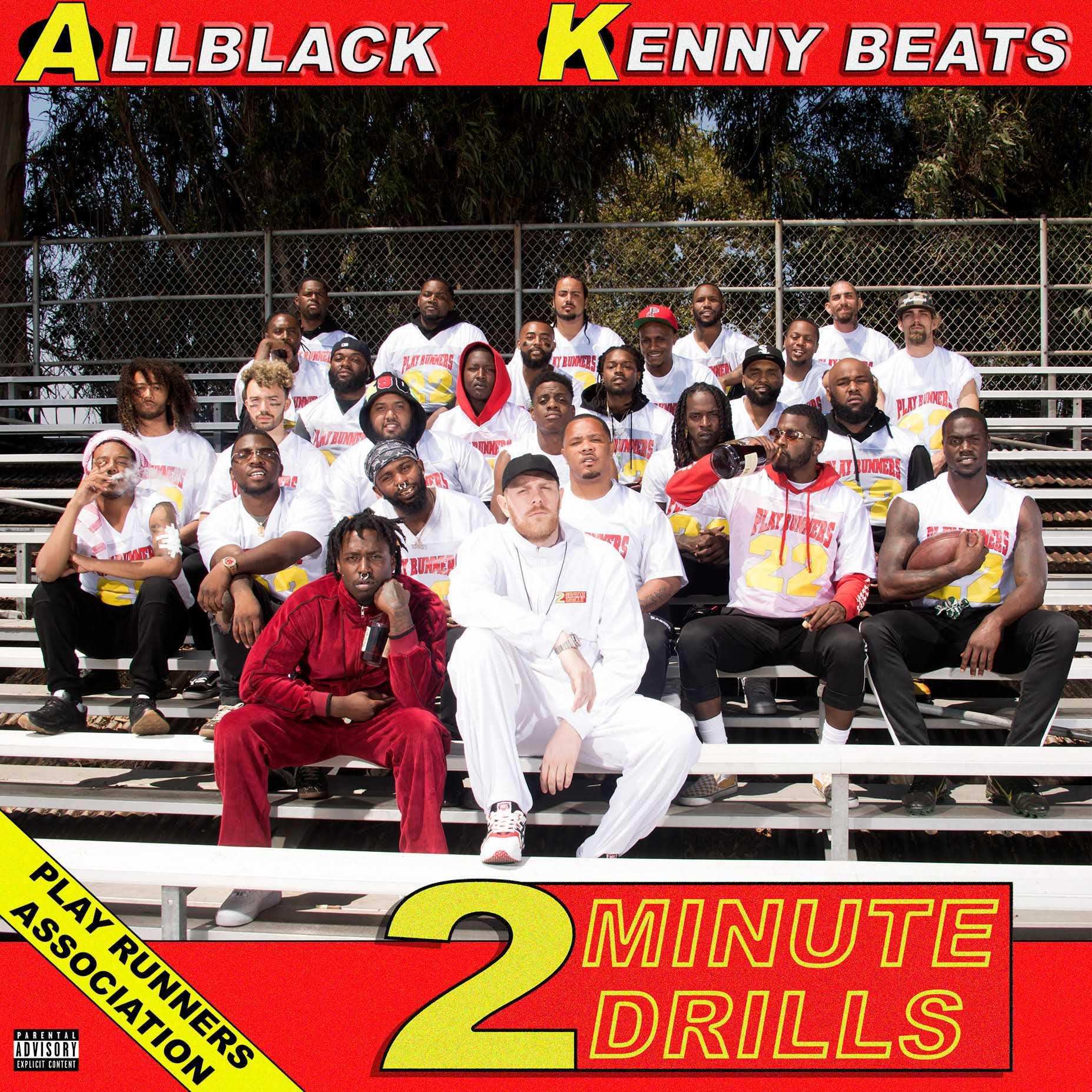 EP Stream: ALLBLACK & Kenny Beats | 2 Minute Drills [Audio]