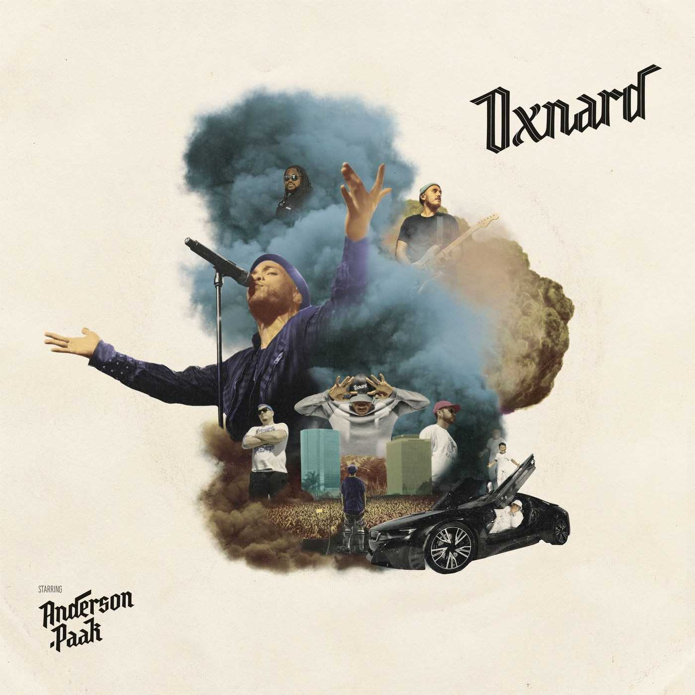 New Project: Anderson .Paak | Oxnard [Audio]