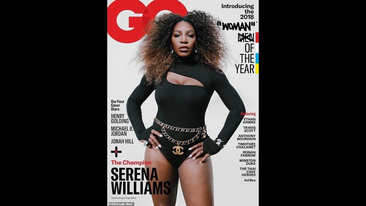 "GQ Faces Backlash Over Serena Williams ""Woman"" Of The Year Cover"