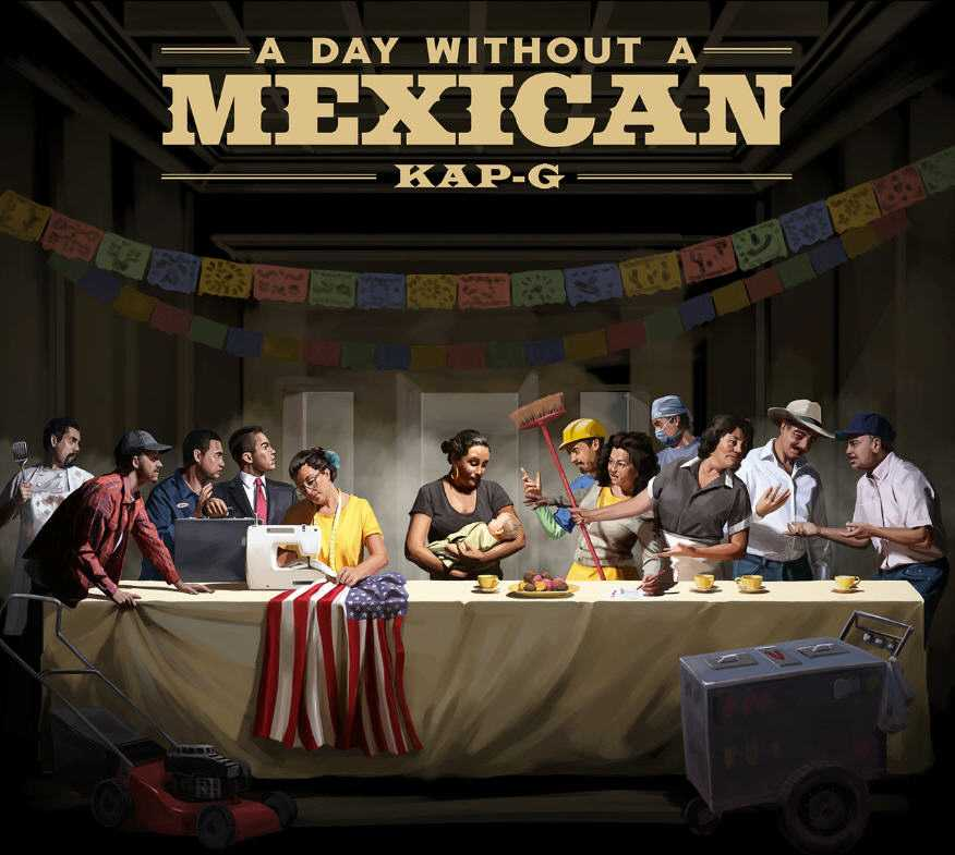 Kap G | A DAY WITHOUT A MEXICAN [Audio]
