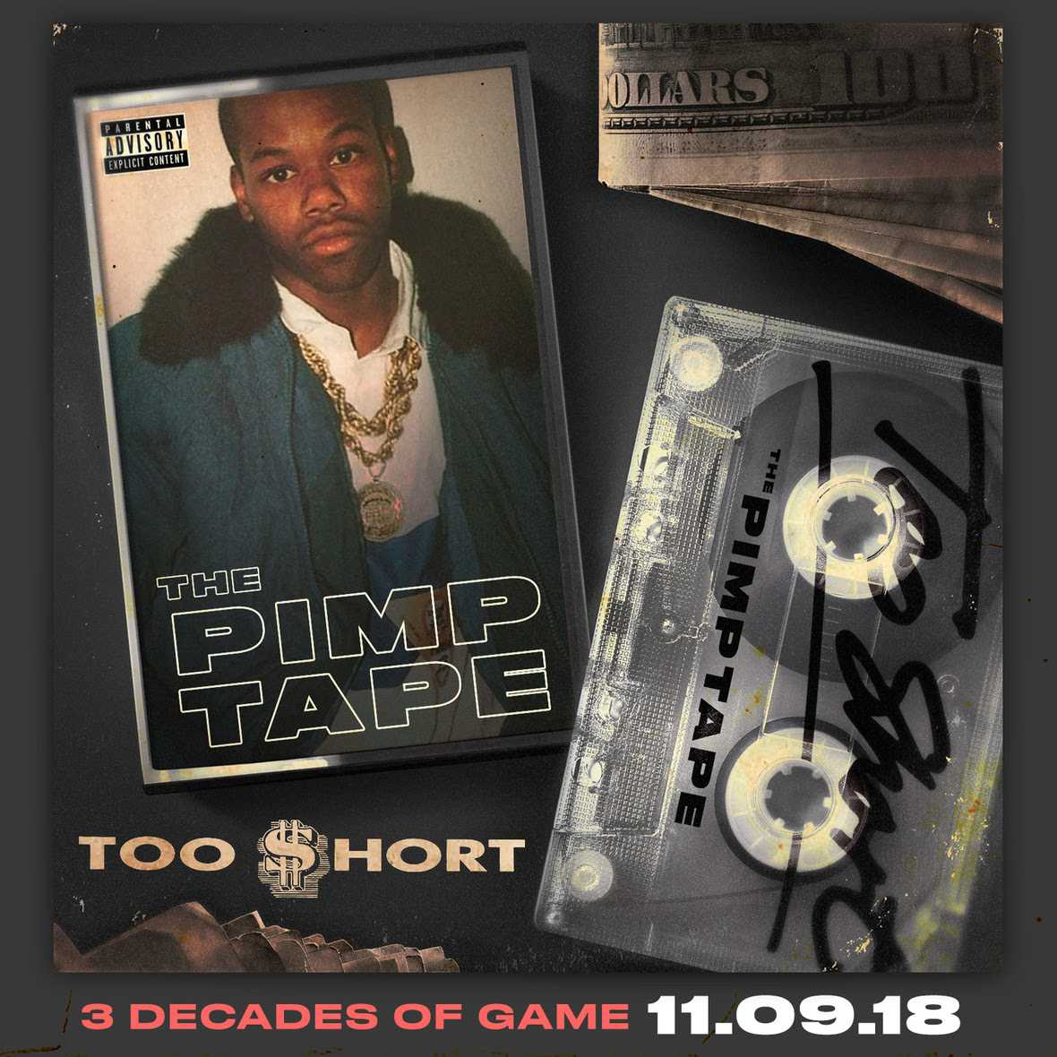 Too $hort Releases Historic 20th Studio Album 'The Pimp Tape' [Audio]