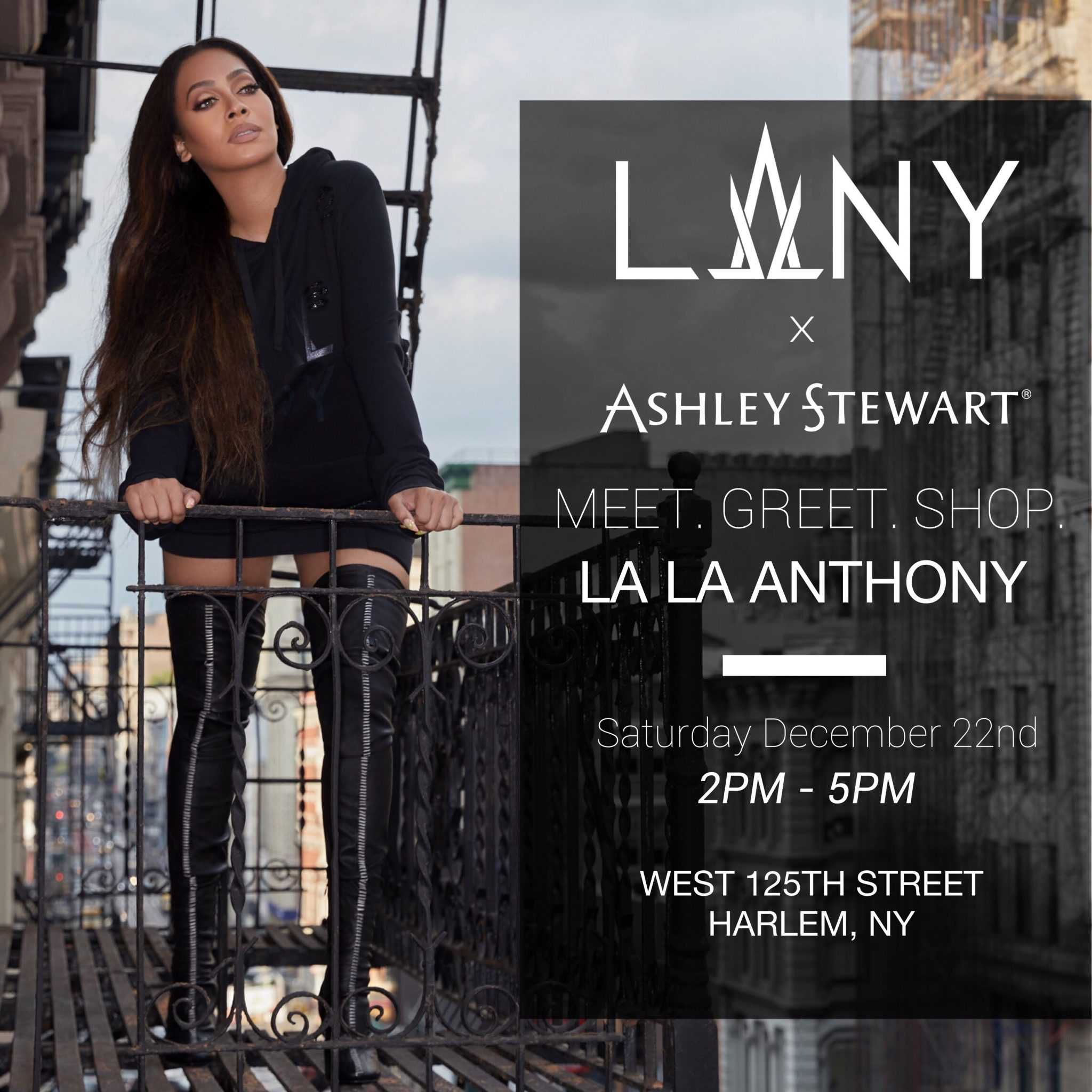 LA LA ANTHONY LAUNCHES NEW DENIM COLLECTION WITH ASHLEY STEWART [EVENT]