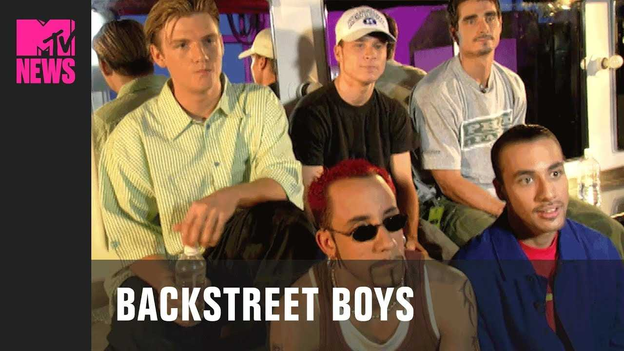 Backstreet Boys on the 'Everybody (Backstreet's Back ...