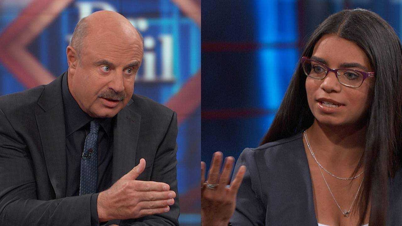Dr  Phil Challenges 24-Year-Old Who Claims She's The