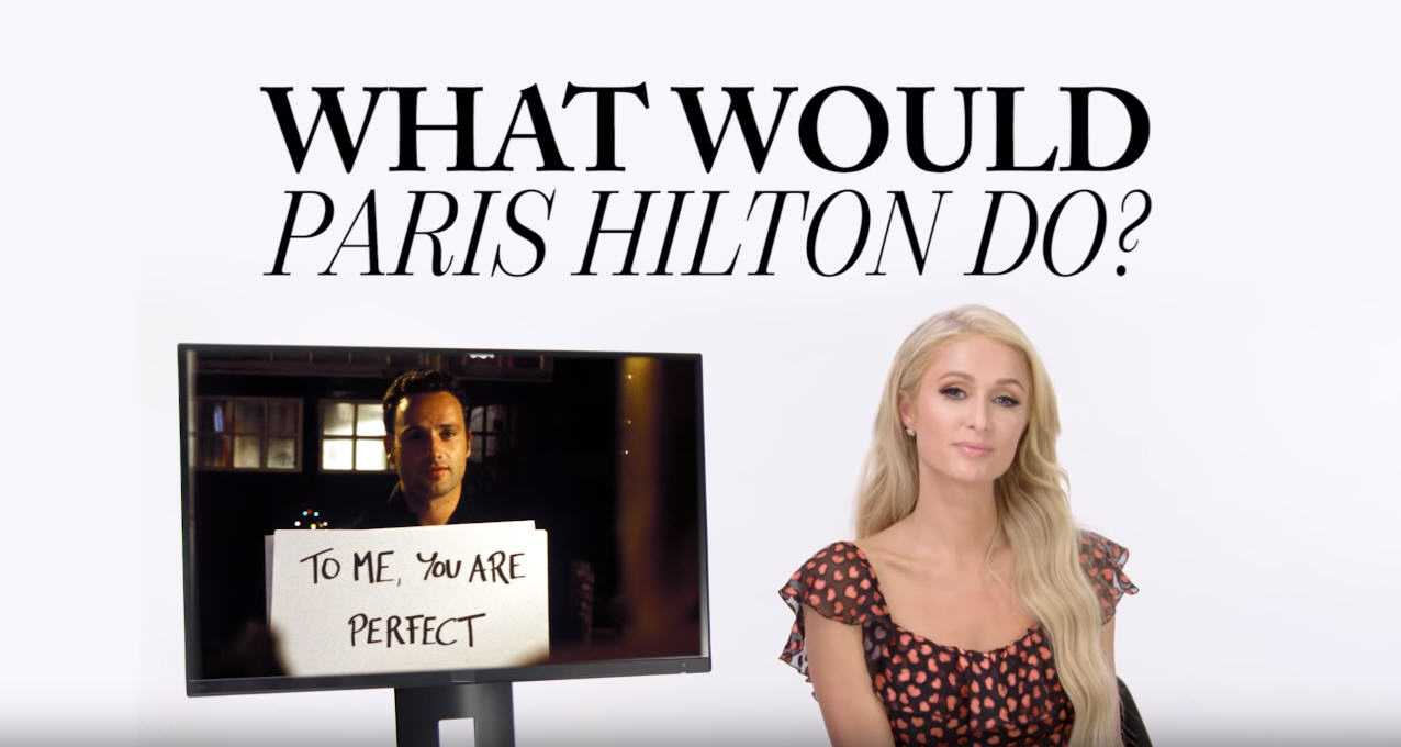 Paris Hilton Inserted Herself Into Memorable Pop Culture Scenes [Interview]