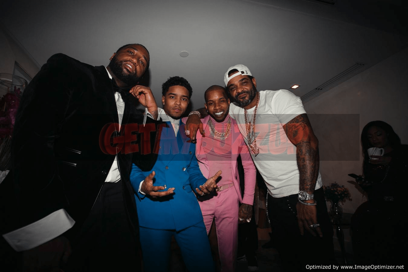 Celeb Sightings: Justin Combs and Tory Lanez Are All Smiles While Celebrating The New Year with a Star-studded Soiree Presented by CÎROC [Photos]