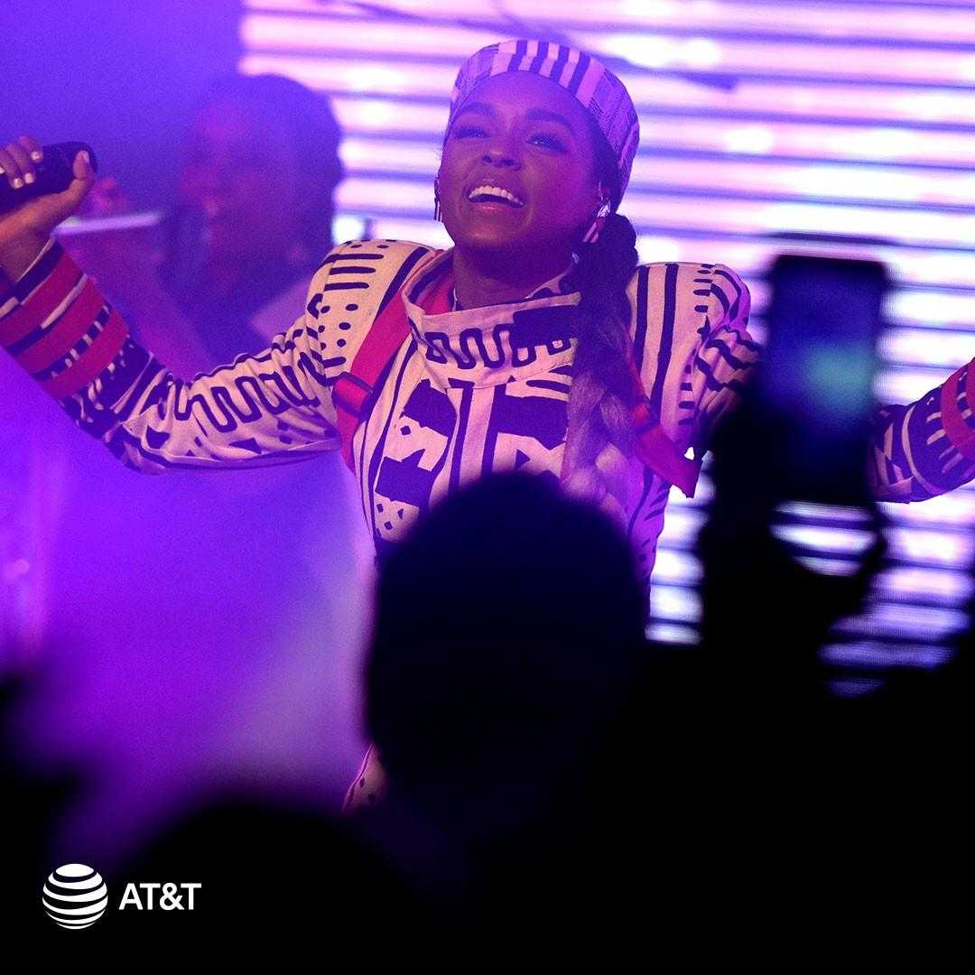 Event Recap: More than 1M watched Janelle Monáe perform at AT&T Pregame Concert Sunday [Exclusive Photos]