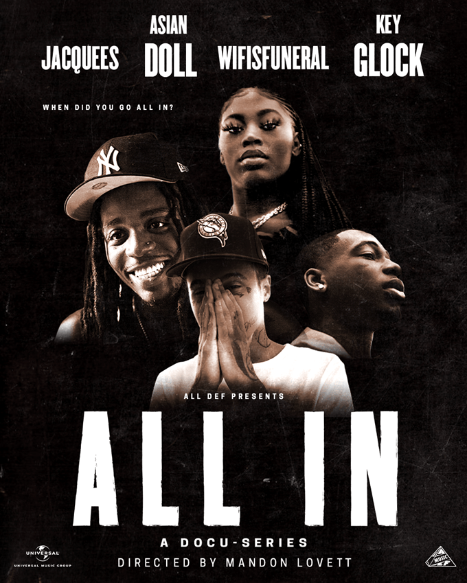 "Watch All Def Music's new docu-series ""ALL IN"" featuring Key Glock and Asian Doll [Video]"