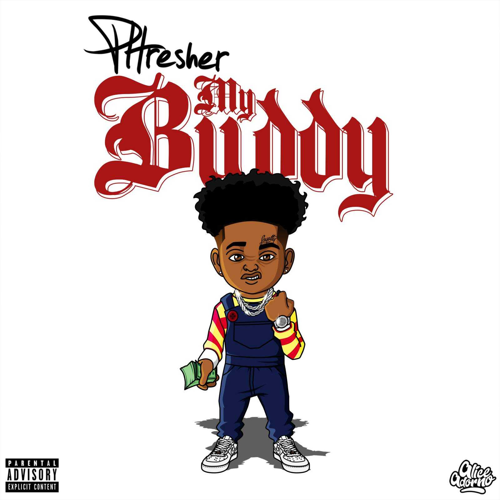 "Brooklyn Rapper Phresher Takes Step Towards More Success With ""My Buddy"" [Audio]"
