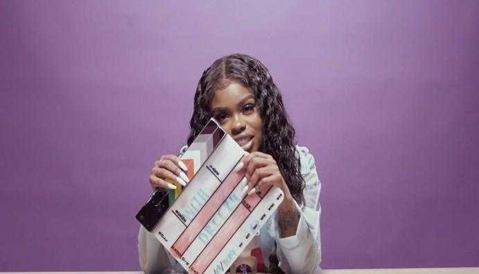 DREEZY DOES ASMR WITH HER OWN LYRICS on FUSE [Interview]
