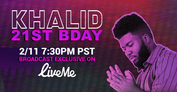 R&B Star Khalid Turns 21 on Feb. 11 & Fans Can Celebrate with Him