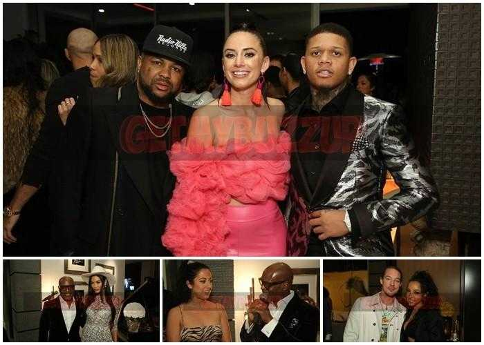 Jennifer Lopez, Aaron Rodriguez, Lee Daniels, Michael Ealey Attends L.A. Reid & HITCO Entertainment Present: A Night Celebrating The 2019 Grammys [Photos]