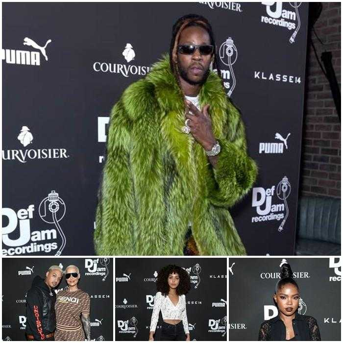 Event Recap: Ryan Destiny, 2 Chainz & Alessia Cara Attend Def Jam Pre-Grammy Party Powered by Courvoisier [Photos]