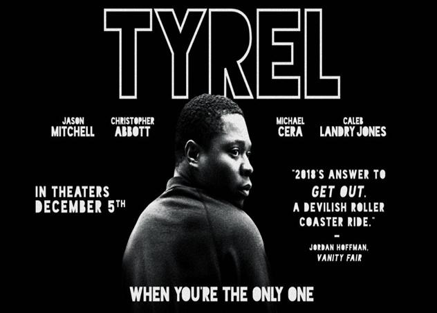 Watch: TYREL Starring Jason Mitchell, Christopher Abbott, Michael Cera, & Caleb Landry Jones [Movie Trailer]