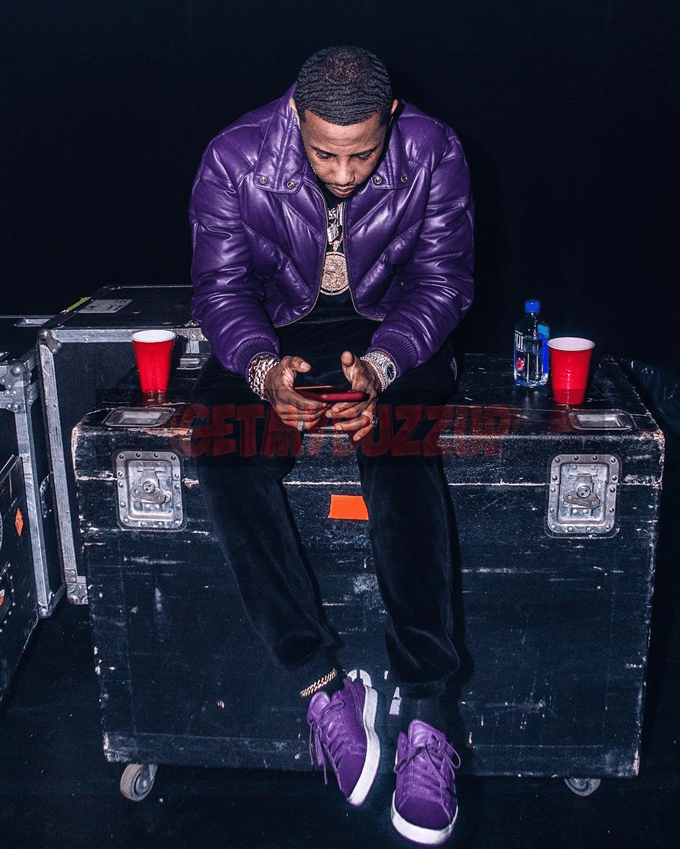 "Fabolous Rocking Purple ""Clyde"" Pumas at the Hammerstein Ballroom [Photos]"