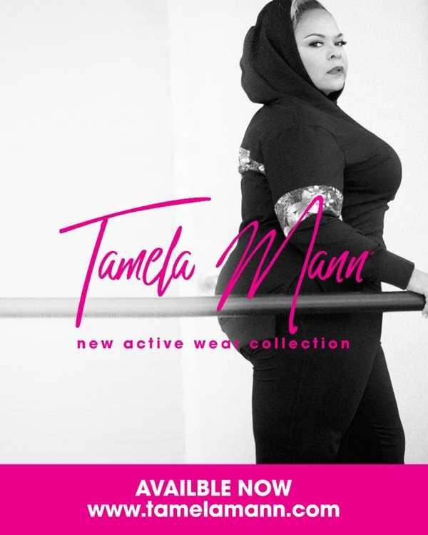 Tamela Mann Launches Women's Plus Athleisure Apparel, Tamela Mann Collection [Fashion]