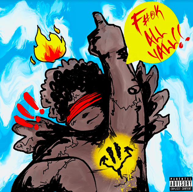 "B Free Says ""F** All Ya'll"" on New Single prod by Helluva"
