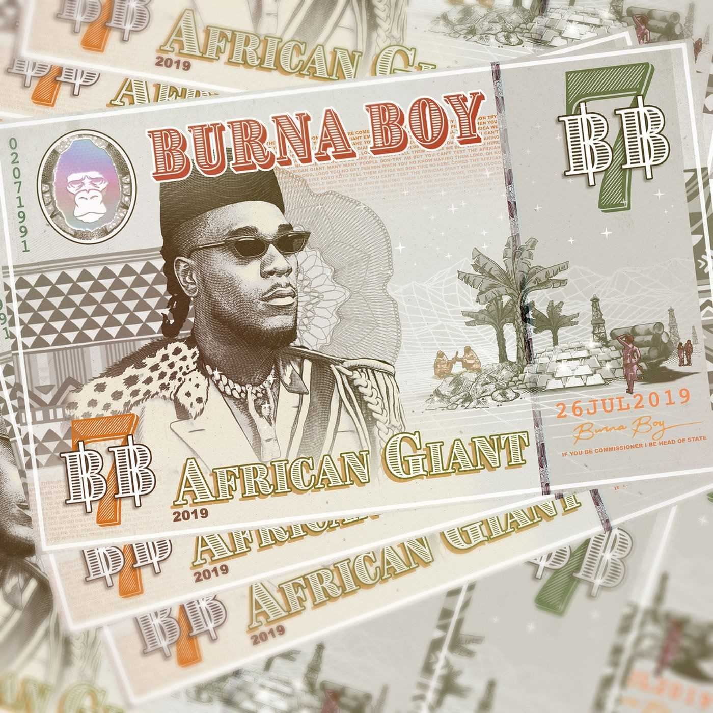 Album Stream: Burna Boy – African Giant [Audio]