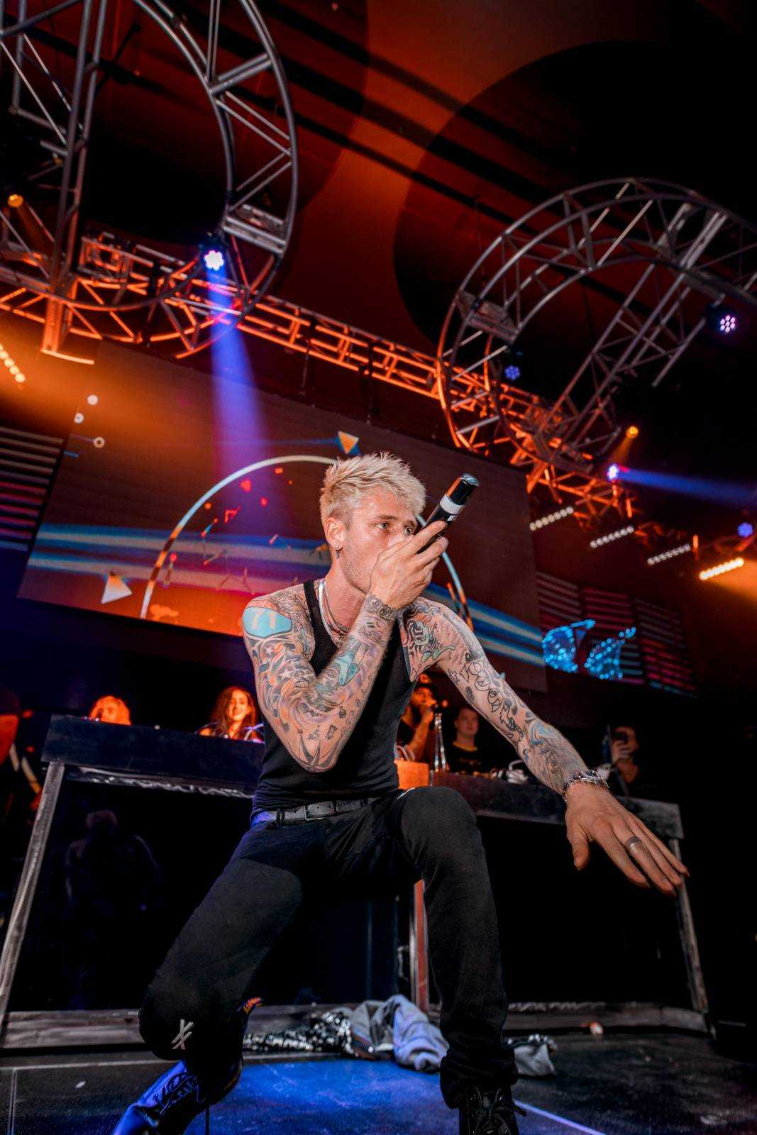 Event Recap: Machine Gun Kelly hosts LEX Nightclub's five-year anniversary celebration [Photos]