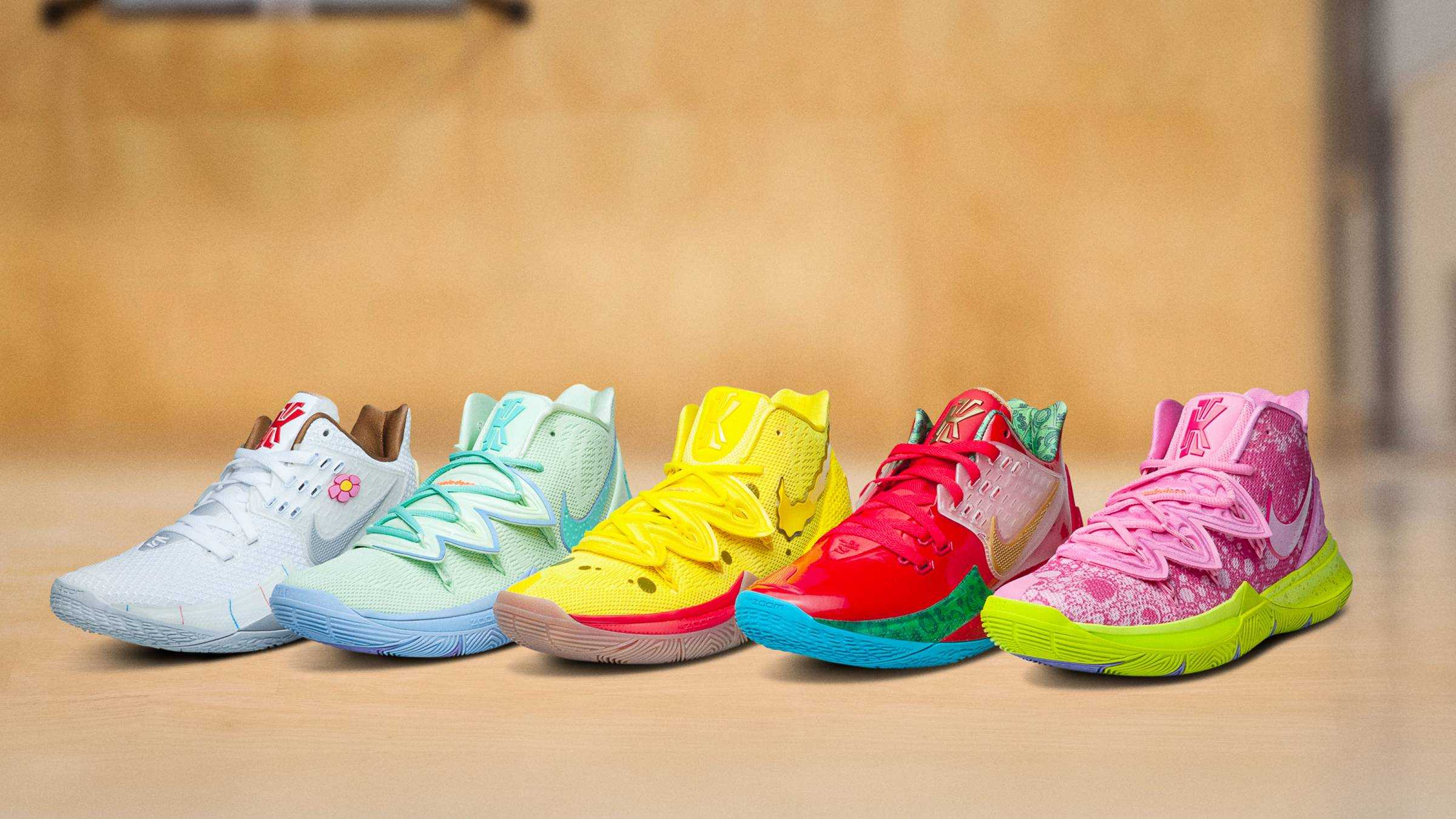 NIKE AND VIACOM NICKELODEON CONSUMER PRODUCTS LAUNCH THE KYRIE X SPONGEBOB SQUAREPANTS COLLECTION [Sneakers]
