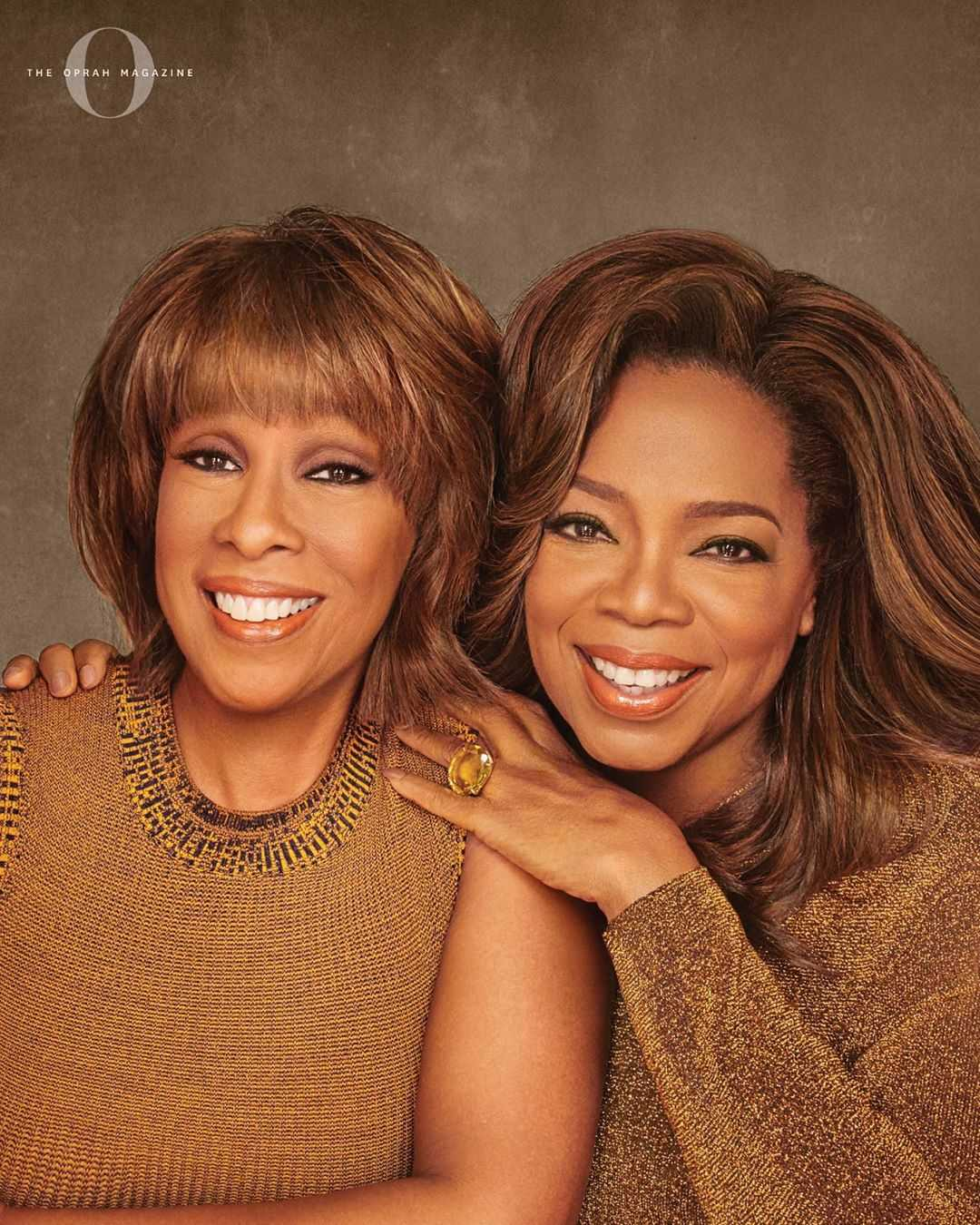 Oprah and her best Friend Gayle King Graces the cover of O Magazine