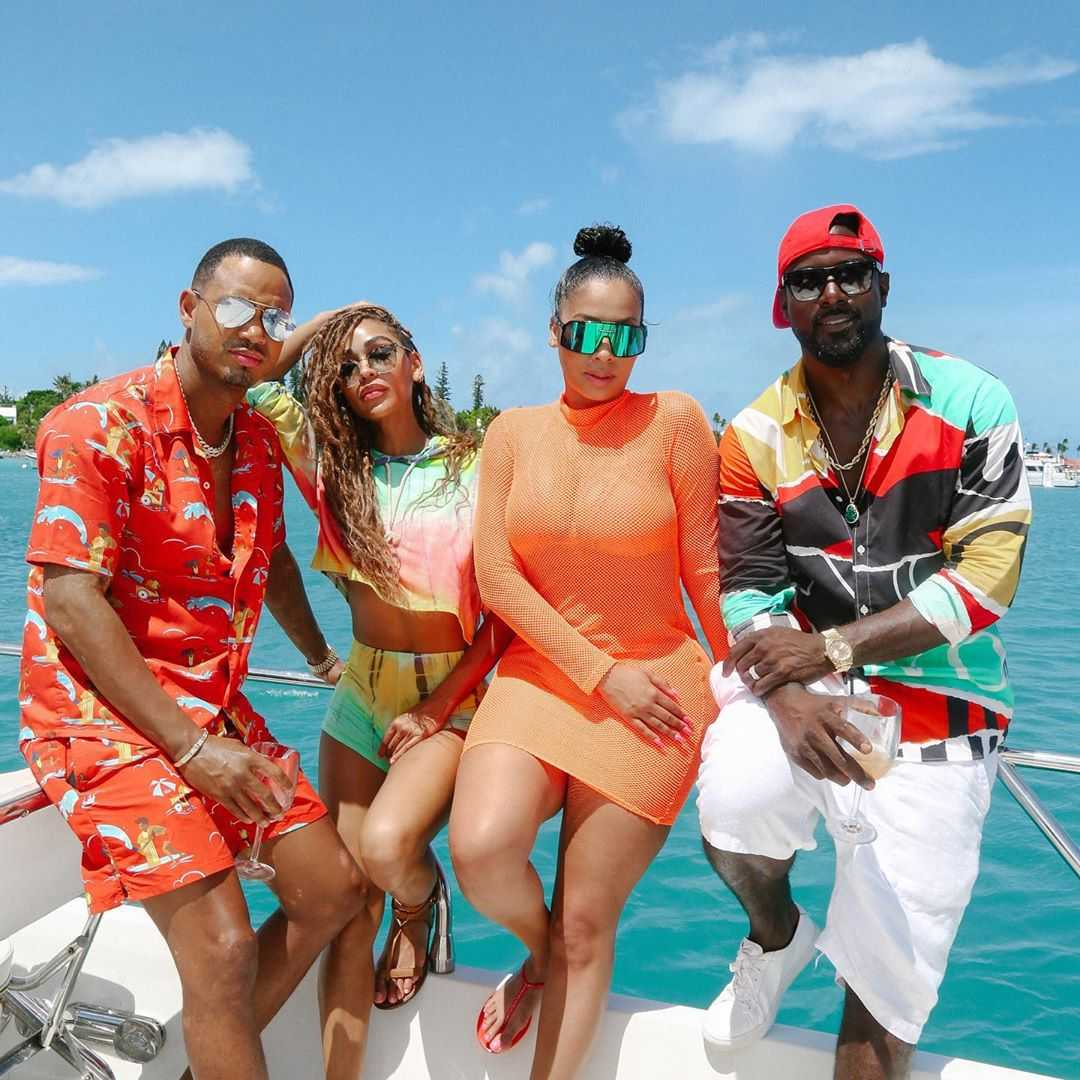 Celeb Stalking: Terrence J Vacationing in Bermuda [Photos]