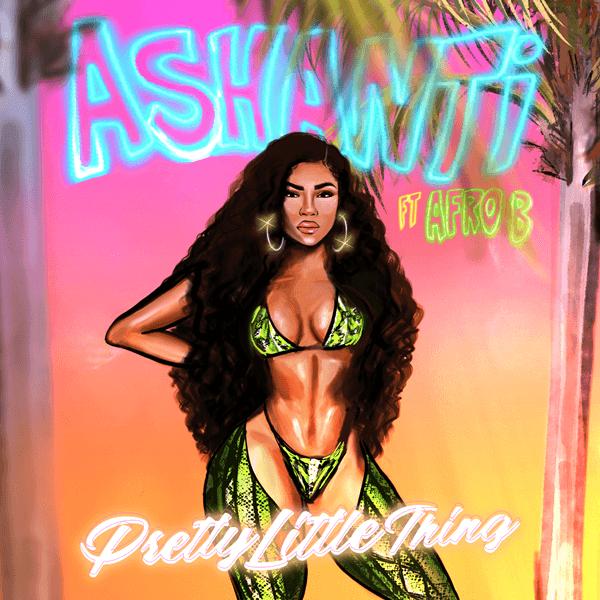 "Ashanti Drops a New Single ""Pretty Little Thing"" Ft. Afro B [Audio]"