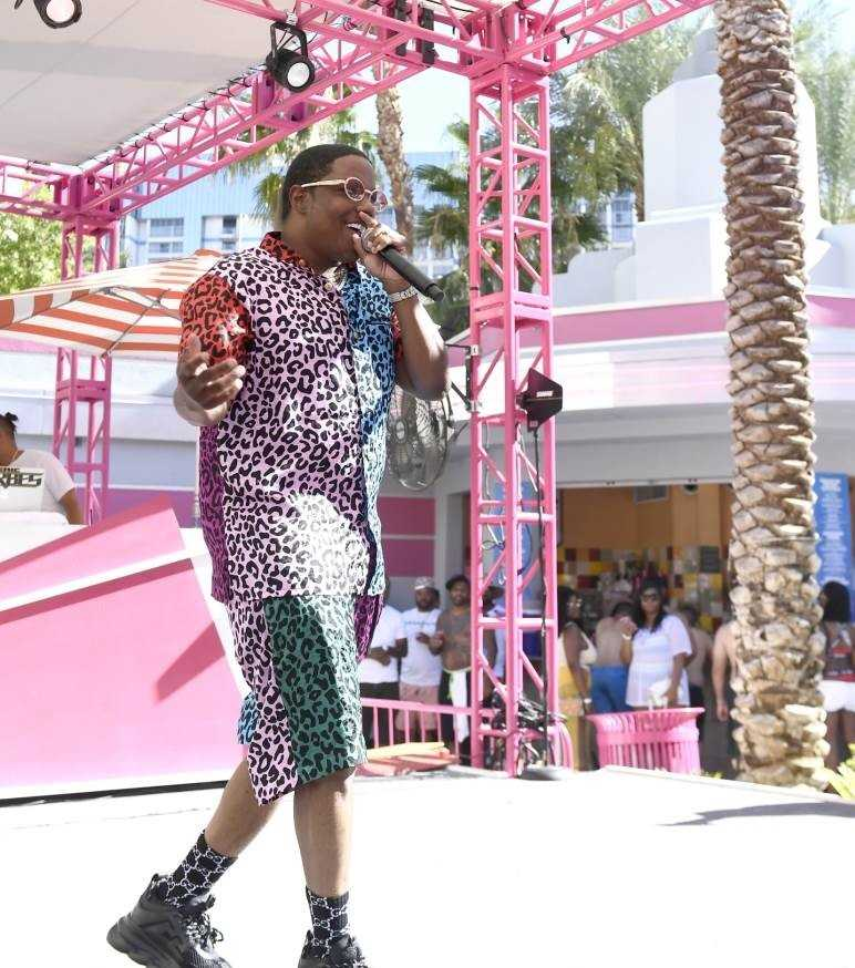 Event Recap: Ma$e performs live at Flamingo Las Vegas' GO Pool Dayclub [Photos]