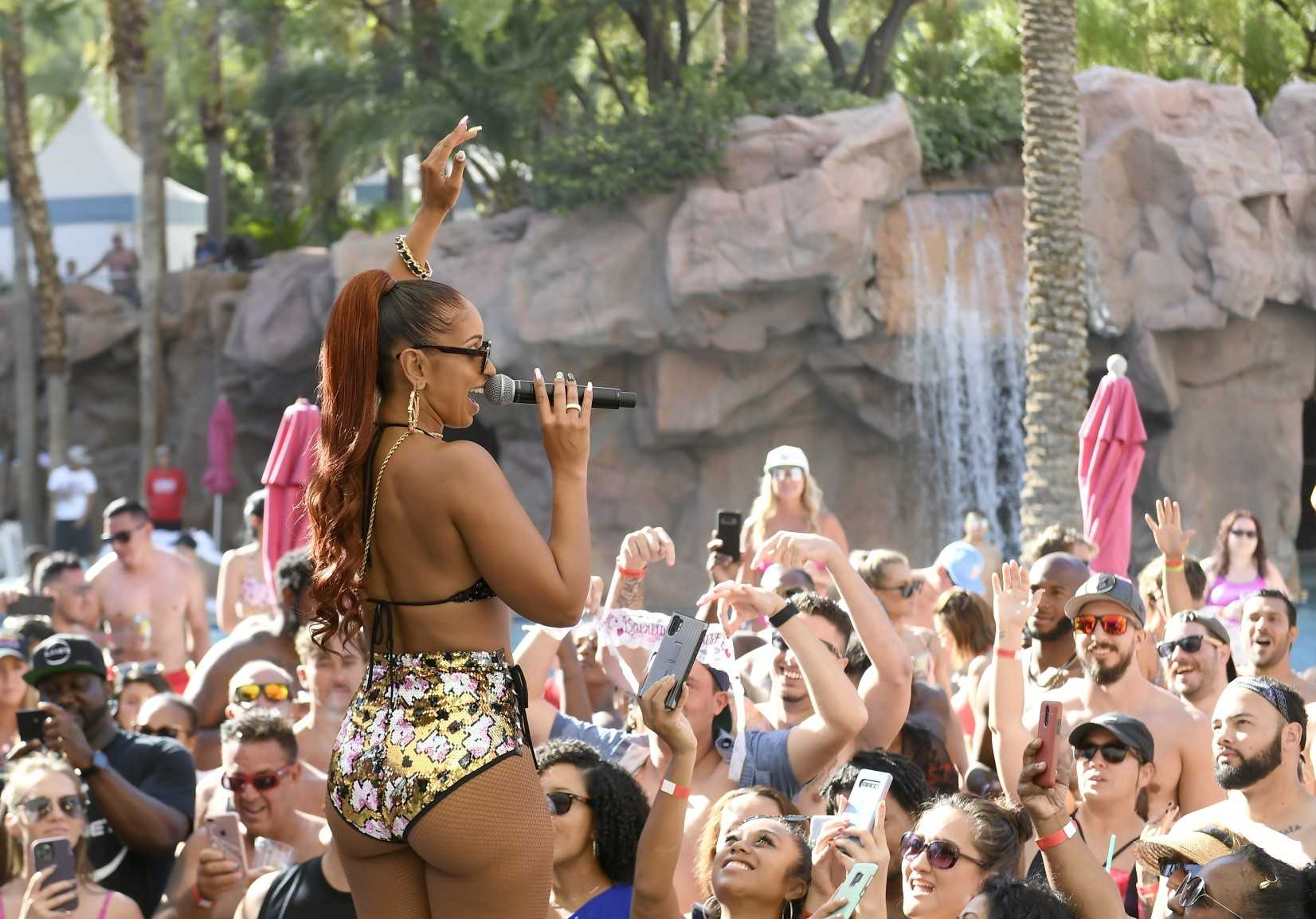 Event Recap: Mýa brings summer sizzle to performance at Flamingo Las Vegas' GO Pool Dayclub [Photos]
