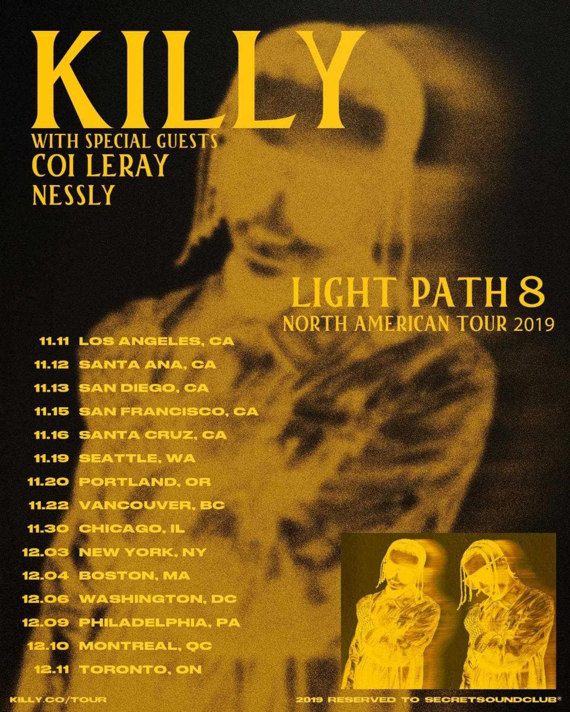 🚀Rapper KILLY Announces North American Tour 🚀