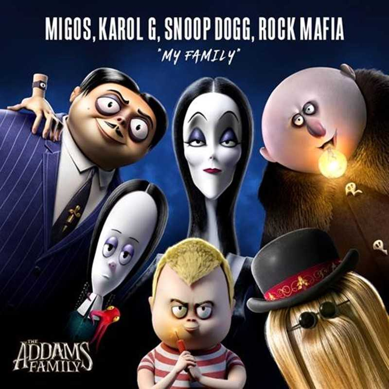 "Migos and Snoop Dogg Debuts New Track ""My Family"" For The Addams Family Soundtrack"