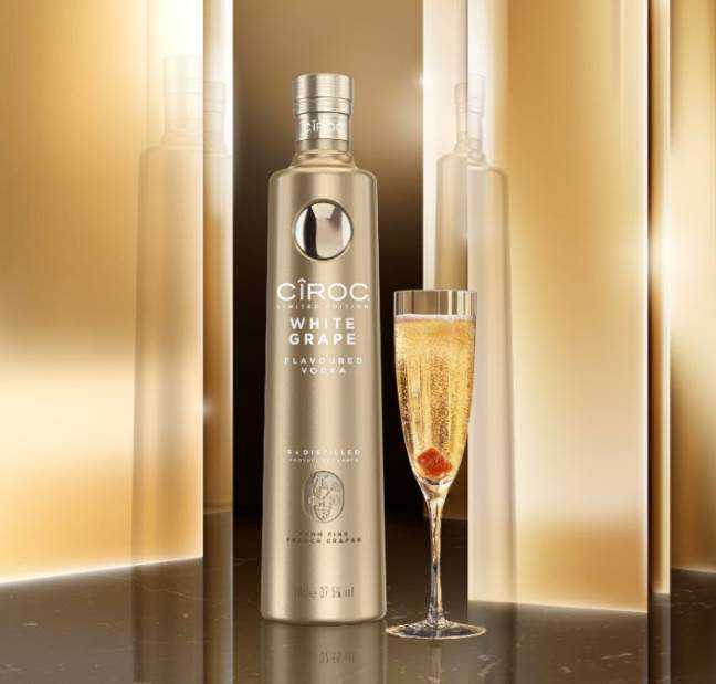 Diddy launches Ciroc White Grape Just in time for National Vodka Day!