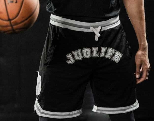NBA Player JaVale McGee Releases JUGLIFE Limited Edition Basketball Shorts