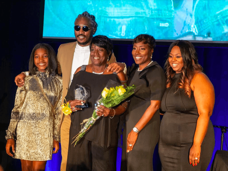 Hip-Hop Megastar Future Honors His Grandmother [Photos + Video]