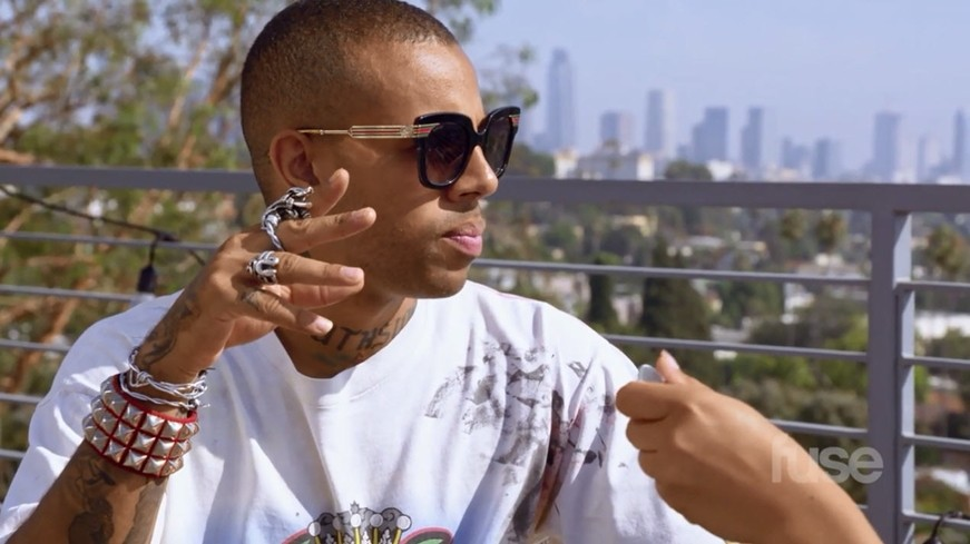 """Vic Mensa On Fuse """"Made From Scratch"""" [Video Clip]"""