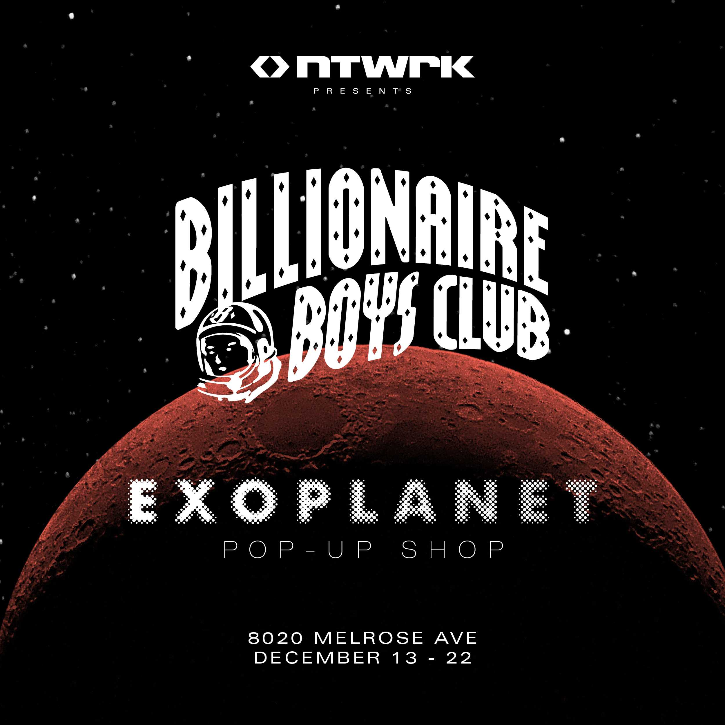 NTWRK Presents: The BBC ICECREAM EXOPLANET POP-UP [FASHION]