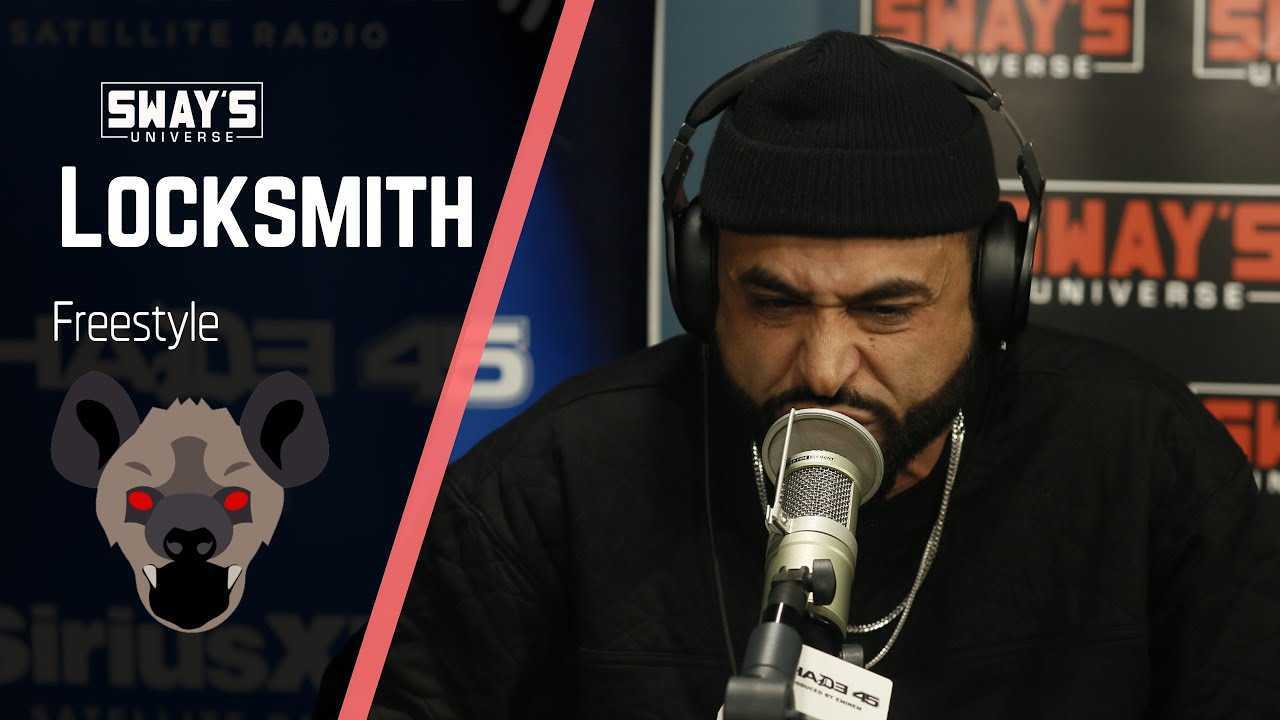 Locksmith Drops off a Fire Freestyle + Fat Joe Calls Him the Best  | SWAY'S UNIVERSE