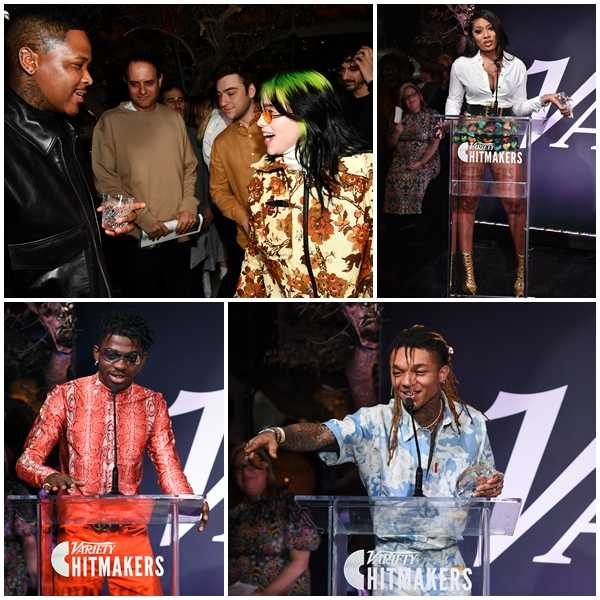 Lil Nas X, Tyga, Megan Thee Stallion, Swae Lee, YG & More at Variety Hitmakers Brunch Sponsored by Citi [Photos]
