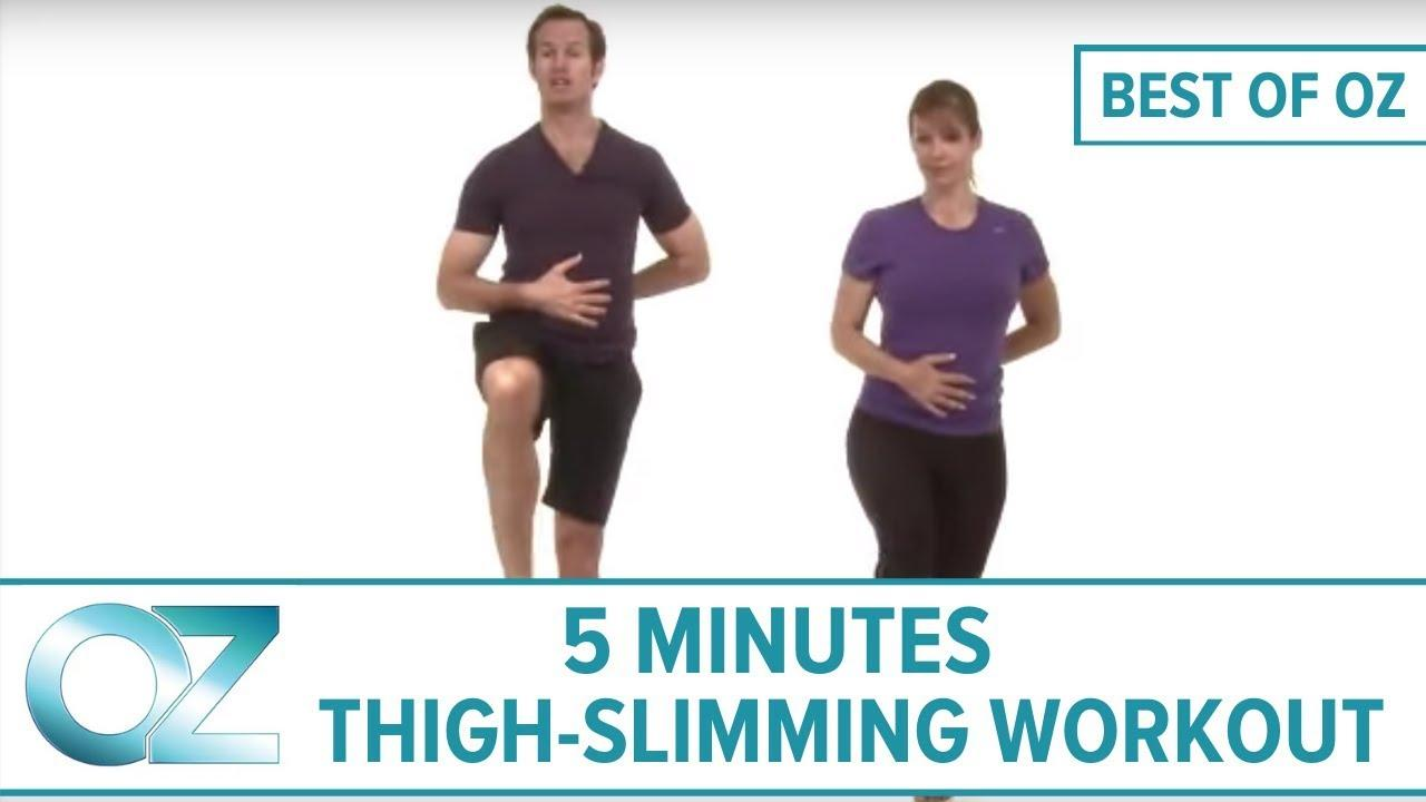 5-Minute Thigh-Slimming Workout – Best Of Oz Collection